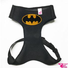 Pettorina confort con logo di Batman in tessuto tecnico traspirante nero