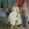Maria Antonietta e il carlino che l'accompagnò alla ghigliottina